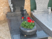 Granite tombstones and monuments for one person