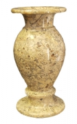 Vaza de marmura fosil