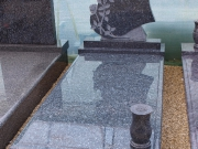 Lucrare funerare din granit. Model: MS-06